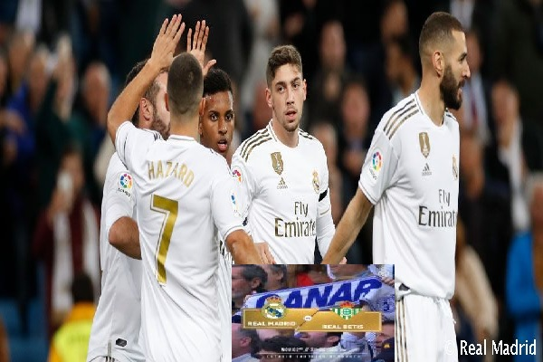 Real Madrid vs Real Betis: Squad News, TV Channel, Kick-Off Time and Line-Up