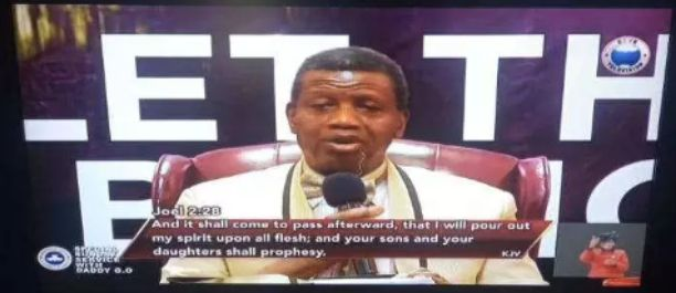 Pastor Adeboye releases fresh prophecy about what will after lockdown is over (Video)