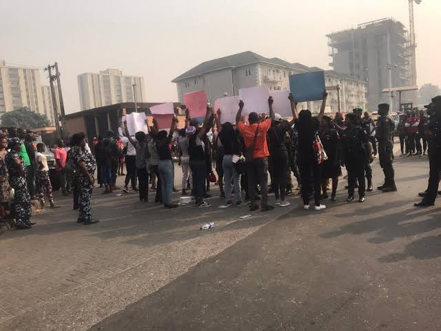 Police Brutality: Youths demand justice for Keke drive who was shot and killed by a police officer in River