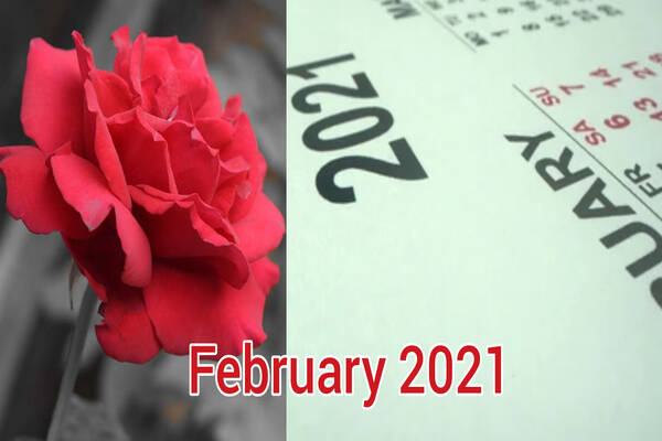 Happy New Month Messages, Wishes For February 2021