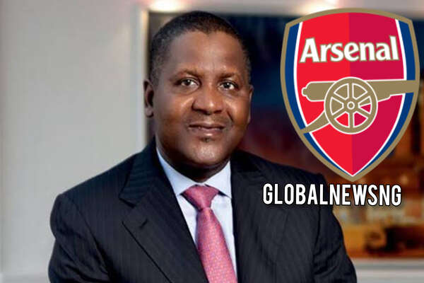 Aliko Dangote is set to take over as the owner of Arsenal