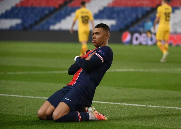 Kylian Mbappé becomes youngest player to score more Champions League goals