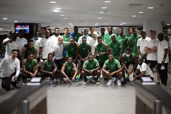 Osimhen, Iwobi, Aribo, Chukwueze, other 19 players arrive Super Eagles Camp for AFCON qualifiers