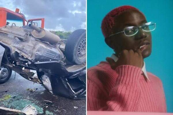 Victony undergo surgery after involve in ghastly car accident