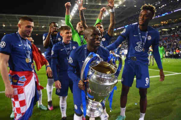 Havertz, Kante miss out of UEFA team of the season