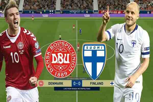 Watch Denmark vs Finland Live Streaming of Euro 2020