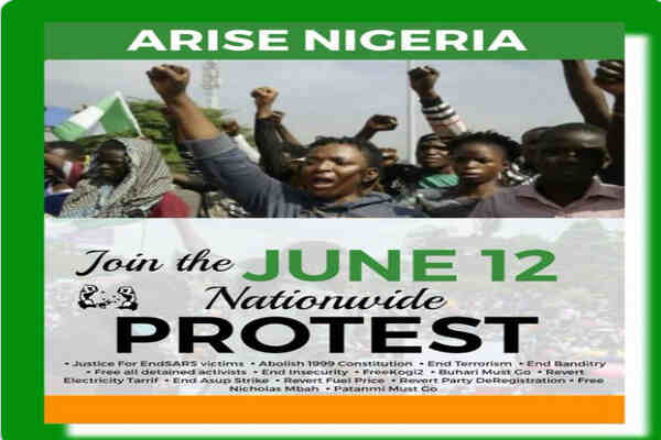 Omoyele Sowore calls for nationwide protest on June 12