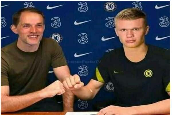 Chelsea's Thomas Tuchel complete signing of Erling Haaland from Dortmund