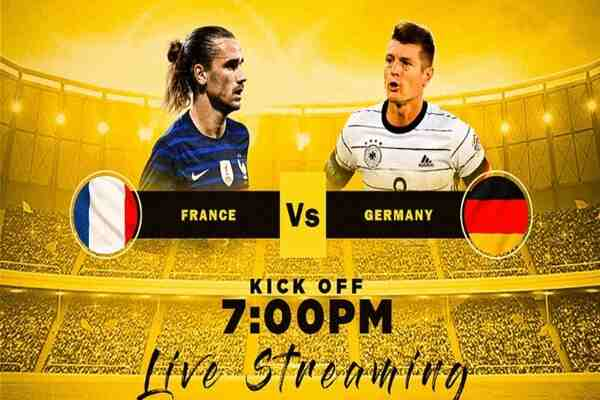 Watch France vs Germany Live Streaming of Euro 2020