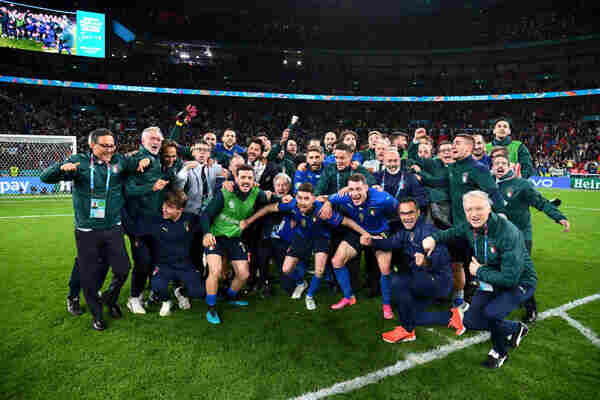 BREAKING: Italy beat Spain 4-2 to through to the Euro 2020 final
