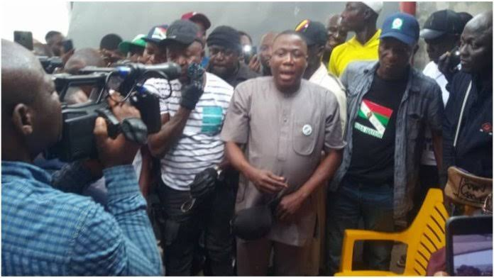 DSS stop Sunday Igboho from traveling out of the country