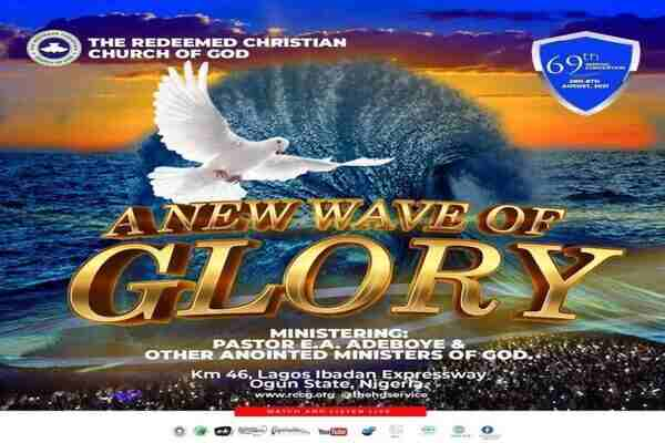 RCCG 2021 Convention Theme - A New Wave of Glory, Schedule and Live Stream
