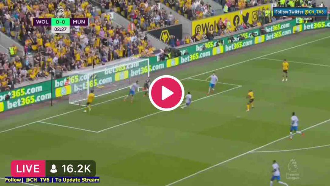 Watch Wolves vs Manchester United Live Streaming