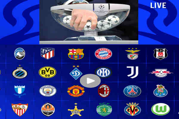 UEFA Champions League Draw Live Stream, Where to Watch on TV & Kick Off Time