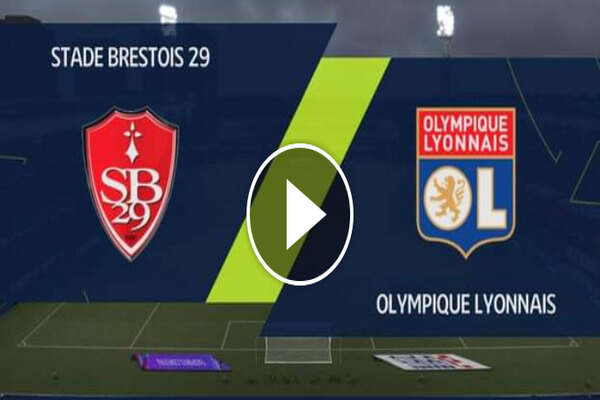 Where To Watch Lyon vs Brest Ligue 1 Fixture Live Streaming