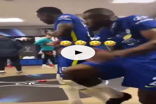 Video as Rudiger, Zouma spotted dancing on Tekno song after Super Cup win