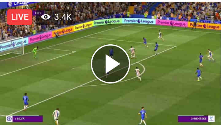 Watch Chelsea vs Crystal Palace Live Streaming On TV