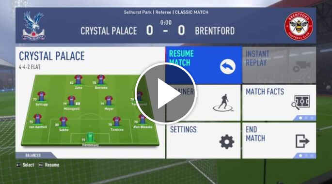 How to Watch Crystal Palace vs Brentford Live Streaming