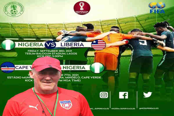 Qatar 2022 WCQ: We are here to beat Super Eagles - Liberia coach Peter Butler