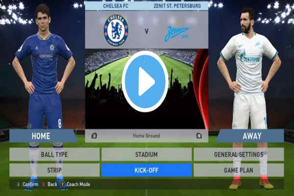 Where To Watch Chelsea vs Zenit Live Streaming