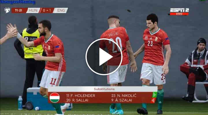 Watch Hungary vs England Live Streaming of 2022 World Cup Qualifying