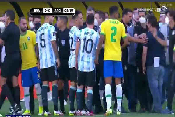 Brazil vs Argentina World Cup qualifiers suspended