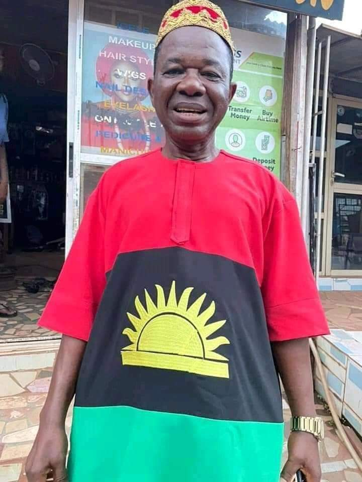 Mr. Agu 5 key words after tortures by military operatives for wearing Biafra clothes