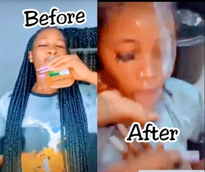 Viral video of Tik Tok user drinking Dettol while performing Alcohol challenge