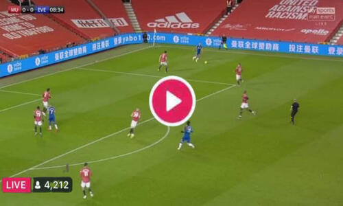 Watch Manchester United vs Everton Live Streaming